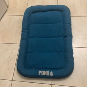 Kong waterproof pet bed teal in color 18x28 inches